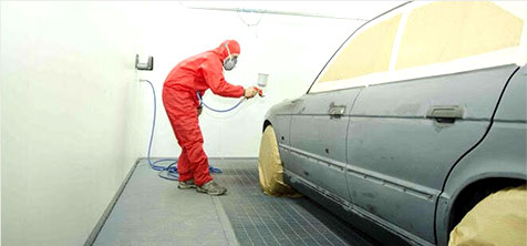 Spray Painting & Body Repair Services